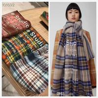 dc05ddd4f2c790 Schal für Frauen Designer Schal Luxusmarke dicke Kaschmirschals 2018 Herbst  Winter Womens Long Wraps 3 Farben