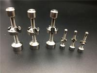Çift Eklemli Ayarlanabilir Titanyum Çiviler 10mm / 14mm / 18mm Düzenli Ti Tırnak Güncellenmiş Sürümü Evrensel GR2 Domeless Çiviler Araçları