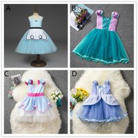 Girls fairy tale Princess lace dresses 4 styles for 1- 5T Kid...