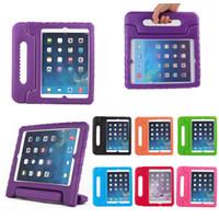 EVA Пеноплавная ручка Детские детские стойки Case для Apple iPad Mini 2 3 4 Air 2018 9.7 Абоназорная крышка Чехол планшета