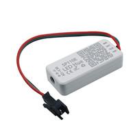 SP110E بلوتوث بكسل ضوء تحكم عن طريق الهاتف الذكية APP لWS2812B SK6812 LPD8806 DMX512 1903 RGB / RGBW DC5-12V