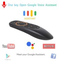 G10 Google Voice Remote Control Air Mouse With 2. 4GHz USB Wi...