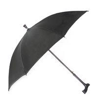Şemsiye Koltuk değneği kaymaz Yaşlı Uzun Sap UV Koruma Rüzgar Geçirmez Şemsiye Kadın Erkek Güneşli Yağmurlu Şemsiye Özelleştirilmiş Hediye DH1000