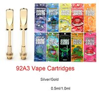 92A3 Atomizer Ceramic Coil Glass Tank Cartridges 0. 5ml 1ml B...