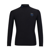 2018 PGM Golf Jersey Quente Slim Alta Blusa Anti-estática Alta Elastic para Macho Golf Undershirt Com Cor Preto Branco Cinza Tamanho M-XXL