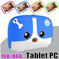 "Çocuklar Tablet PC 7"" 7 inç Dört Çekirdekli çocuk tableti Android 6.0 Allwinner A33 google oyuncusu 512MB / 1GB RAM 8GB ROM"