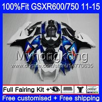 Injection For SUZUKI GSXR 600 750 GSXR750 11 12 13 14 15 16 ...