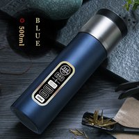Outdoor Sports Portable Water Bottles Plastic Transparent Round Leakproof