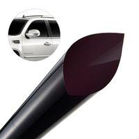 50cmx300cm Dark Black Car Window Tint Film Glass VLT 5% Roll 1 PLY Car Auto House Commercial Solar Protection Summer