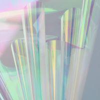50x1000cm Iridescence Membrane Laser Cellophane Bouquet d'emballage Papier Emballage Papier Emballage Entreprise d'expédition Industrial HA733