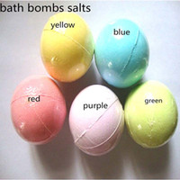 10g cor aleatória! Bolha de banho de espuma natural bola essencial óleo artesanal SPA sais de banho bola efervescente
