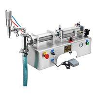 10 W Sıvı Dolum Makinesi Süt Zeytin Yağı İçecek Için Likör Saf Su Soya Sosu Sıvı Sıvı Paketleme Makinesi