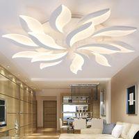 Oturma Çalışma Odası Yatak Odası lampe plafondunda avize Kapalı Tavan Lambası İçin Yeni Tasarım Akrilik Modern Led Tavan Lambaları