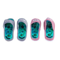 Pantofole massaggiatore piedi Scarpe magnetiche Agopuntura Scarpa salute Riflessologia Cura sana piedi Massaggio Calzature magnete Sano C18122801
