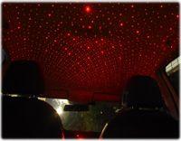 سيارة الليزر أضواء السماء النجومية سيارة النجوم usb الجو أضواء السيارة مرصعة السماء سقف الديكور أقراص USB الجو أضواء A01