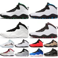 2020 zapatos de baloncesto 10 10s hombre Orlando Azul Orlando me he vuelto gris de acero Westbrook blanco alas de sombra zapatillas de deporte zapatos deportivos para hombre