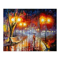 Romantic walking in the rain forest oil painting restaurant ...