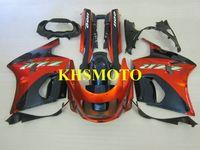 Motorfietsen Kit voor Kawasaki Ninja ZZR1100 93 99 01 03 ZZR 1100 ZX11 1993 2001 2003 ABS Red Blue Backings Set + Gifts ZD04