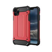 아이폰 11 프로 맥스 X X가 최대 XR 8 7 플러스 하이브리드 로봇 충격에 견딜 수있는 전화 충격 방지 커버 S10 플러스 Lite에 대한 수비수 하이브리드 아머 케이스