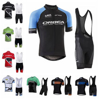 New Arrival. ORBEA team Cycling Short Sleeves jersey bib shorts sets new  arrive 2016 With Padded Trousers Ultra Breathable Bike ... 759cffc47