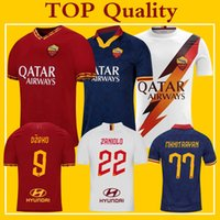 AS Roma Jersey 2019 Home Away Third Maillot de Roma Soccer S...