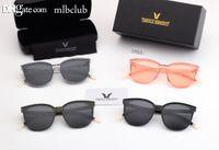 lusso- GM GENTLE MOSTRO occhiali da sole polarizzati lente pilota Moda Uomo Donne dell'annata di marca Occhiali da sole con casebox progettista di lusso 1963