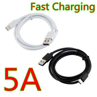 1 متر 3ft 5a سوبر شحن سريع نوع C USB مزامنة بيانات شاحن الكابلات لسامسونج S8 S9 S10 S11 هاتف هواوي LG