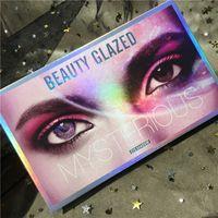 Marka Makyaj Güzellik Camlı Eyeshadows 18 Renk Gizemli Göz Farı paleti Işıltılı Mat Göz farı DHL ücretsiz gönderim palettes