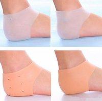 2020 Soins des pieds en silicone Outil Hydratante talon Gel Chaussettes Cracked Soins de la peau Protection Pédicure Santé Moniteurs de massage DHL