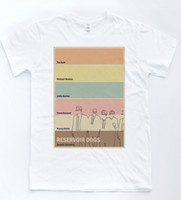 Reservoir Dogs Film Poster T- shirt Indie Hipster Movie Festi...