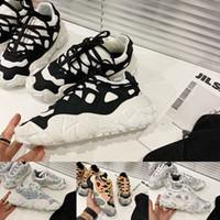 Acne Studios Bolzter W diseñador de moda los zapatos de los calzados informales de lujo papá zapato calzado deportivo womenTechnical las zapatillas de deporte del zapato mejor calidad CAJA