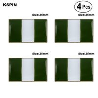 Нигерия броши лацкан булавка флаг значок брошь булавки значки 4шт