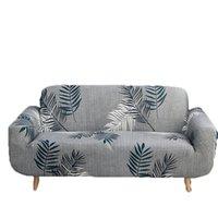 Moda a cuadros de impresión suave funda de sofá cómodo sofá cubierta Multi Tamaño elástico Sofá Cover Breve decoración casera moderna VT0931