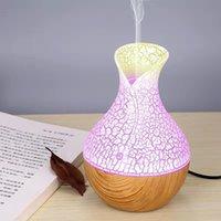 130ml Mini Air Lamp Lamp Humidificatore Ultrasuoni Mist Aroma Diffusore USB Essenziale Diffusore Olio Diffusore Aromaterapia Umidificatore per l'ufficio auto