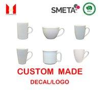 Gute Qualität Kundenspezifische Logo Becher Keksche Cup Kaffee Keramik Kinder Becher Geschenk Porzellan Starbucks Urlaubsbecher 16 Unzen