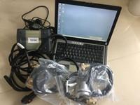 V12 / 2014 MB ESTRELA C3 Multiplexer com soft-ware instalar D630 laptop PC 4G SD Ligue C3 carro ferramenta de diagnóstico pronto para uso