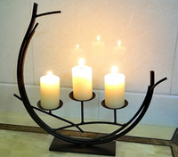 Wedding Stand Candle Holder European Romantic Dining Table H...
