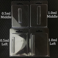 Clamshell Plastic Blister Packing Retail Vape Cartridges Pac...