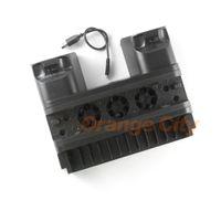 Para ps4 slim pro suporte vertical cooler cooler dual controlador carregador estação dock de carregamento para playstation 4 ps4 acessórios