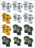 Mens women youth Green Bay Packers 12 Aaron Rodgers 26 Darne...
