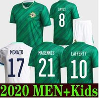NEW JERSEY 2020 2021 Irlande du Nord SOCCER MAILLOTS EVANS LEWIS SAVILLE DAVIS WHYTE LAFFERTY McNair HOME 20 21 T-SHIRT MAILLOTS DE FOOTBALL