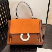 Clássico Cadeia Bolsas Suede Handbag do anel círculo Bolsas de Ombro Mulheres Flap Cadeia Crossbody Bag Lady Bolsas Mensageiro Bolsa