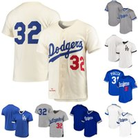 Los Angeles 31 Mike Piazza 32 Sandy Koufax Mens Womens Gençlik 1963 Sandy Koufax Dodgers Retro Beyzbol Formalar S-XXXL