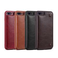 Кошелек из искусственных телефонов PU кожаных телефонов Flip Card Pocket телефон держатель чехол для iPhone 7 XR X MAX 11 с слотами кредитных карт