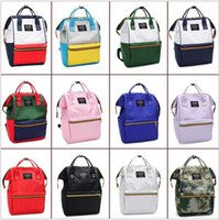 Brand Designer Canvas Women Backpack High School Students Sc...
