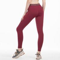 Absorción de sudor rápido Pantalones de yoga Mujeres Leggings Deporte Pantalones deportivos Pantalones Mallas Gimnasio Entrenamiento Legging Deporte Femme Fitness