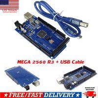 MEGA 2560 R3 Development Board CH340G ATMEGA 2560-16AU Kit Câble USB pour Arduino