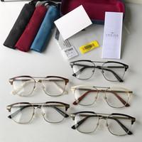 고품질 유니섹스 안경 프레임 54-17-145 더블 브리지 금속 + 판자를위한 더 많은 처방 안경 전체 설정 케이스 OEM 콘센트
