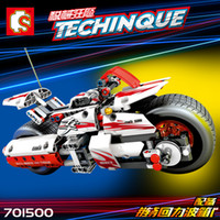 392pcs Compatible Legoing Technic Racing Motorcycle Building...
