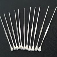금속 삽 도구 스테인레스 스틸 dabber 도구 왁스 도구 건조 허브 도구 최저 가격의 소량 도구 VAX 분무기 분무기 왁스 Dabbers 미국 왁스